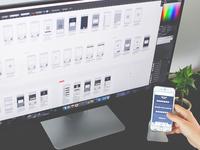 UX blueprint and prototype