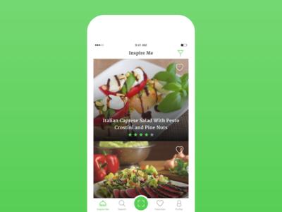 Spoon Guru - iOs app london agency guru spoon green food ux ui app ios
