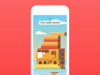 iOS game design - UI and illustration