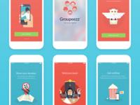 iOS app - UI illustrations