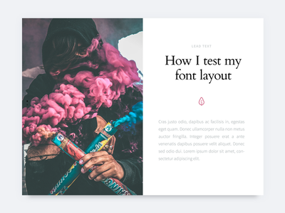 Font Tester PSD free psd design layout fonts