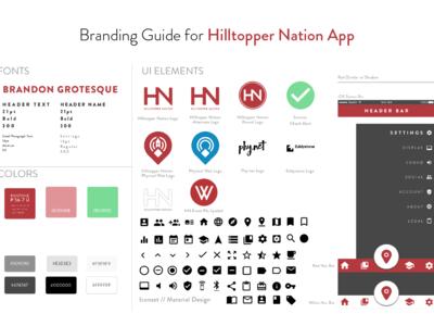 Branding Guide – Hilltopper Nation App [prototype]