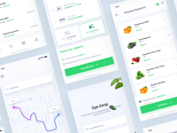 Food Delivery App All Pages