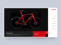 Bike ecommerce layout