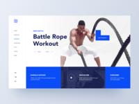 Fitness Hero Concept