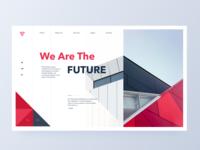 Architecture header concept