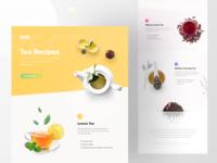 Tea Recipes Mailing Info