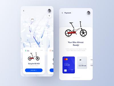 Bike Rent App Order mobile app mobile rent booking bike bike app