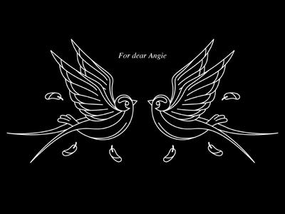 Golondrinas bird tattoo design design tattoo swallows