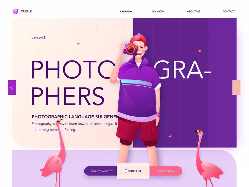 Website app icon plant branding logo man web design ux jensonn queble line colorful illustrator design web illustration ui