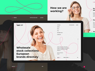 Your best place to buy brands 🧥 shop web ux ui brands