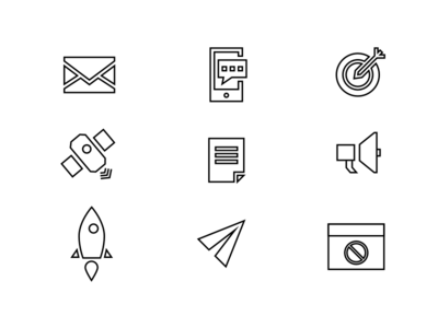 New direction / new icons