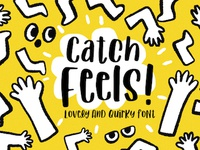 Catch Feels! Lovely and Quirky Font