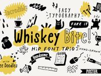 Whiskey Bite - Free Hip Font