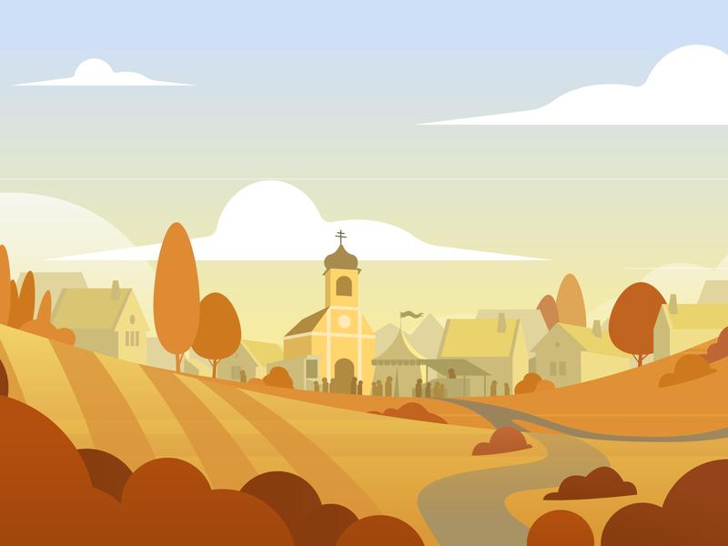 Horizonral Landscape illustrations ai vectorart vector sekond sek landscape illustration landscape environment art env styleframe scenery scene illustration art illustraion illustrator illustration