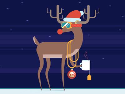 Hoverboxin' Rudolf