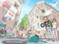 BP transitions / Ponty street