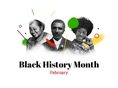 Black History Month february antiracism history black and white illustration black history month black lives matter