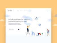 chat.io Home Page