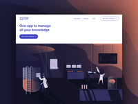 Knowledge Base landing page