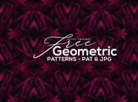 12 Free Modern Geometric Patterns 2