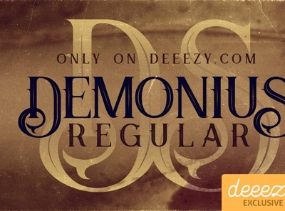 Demonius Regular Font
