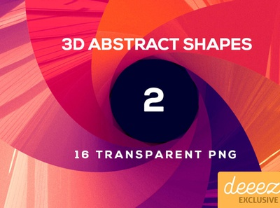 3D Abstract Shapes 2 - FREEBIE
