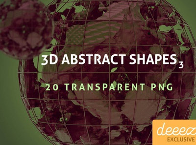 3D Abstract Shapes 3 - FREEBIE