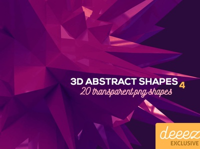 3D Abstract Shapes 4 - FREEBIE