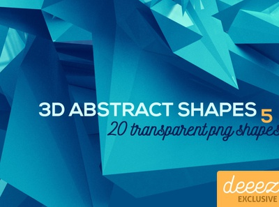 3D Abstract Shapes 5 - FREEBIE