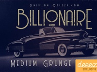 Billionaire Medium Grunge Font - FREEBIE