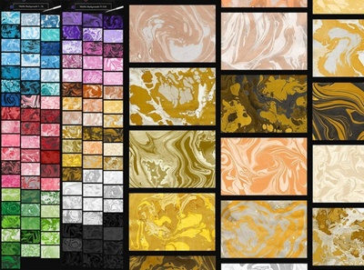 Marble Ink Monochromatic Backgrounds marble backgrounds digitalart
