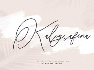 Asphalt Signature Font calligraphy scriptfont handwrittenfont font typography