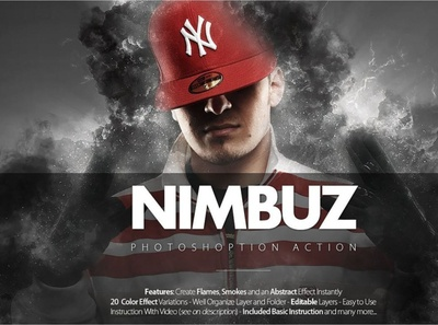 Nimbuz Photoshop Action design photoshop effects digitalart