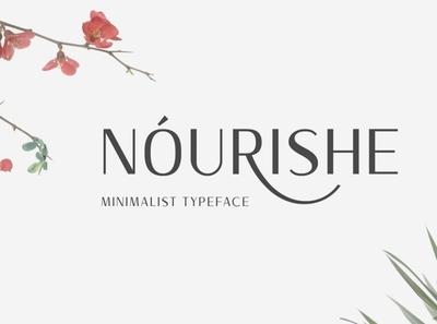 Nourishe digitalart duolinefont font typography