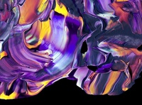 Abstract Paint Shapes digitalart acrylicpaint paint abstract