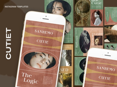 Cutiet Instagram Templates digitalart templates template instagram