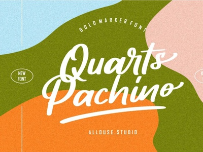 Quarts Pachino typeface scriptfont handwrittenfont font typography
