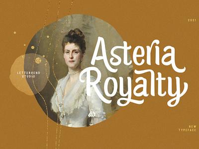 Asteria Royalty - Handwriting Font digitalart comicfont font typography