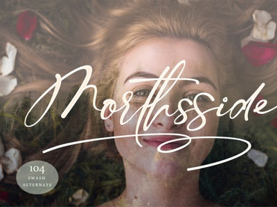 Morthsside handwrittenfont calligraphy font freefont typography