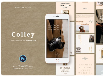 Online Marketing Instagram Colley photoshop digitalart template instagram