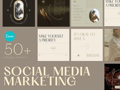 Digital Marketing Instagram digitalart templates template instagram canva