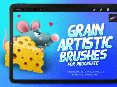 Grain artistic brushes digitalart textures brushes