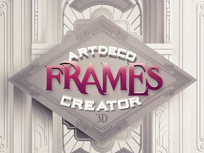 Vintage 3D Frame Creator by Deeezy - Dribbble