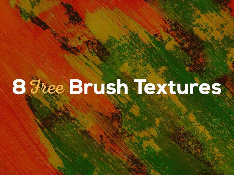 8 Free Brush Textures