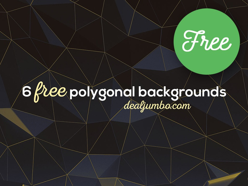6 Free Polygonal 3D Room Backgrounds