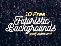 10 FREE Futuristic 3D Backgrounds