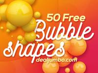 FREE Colorfull 3D Bubbles