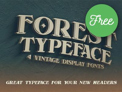 Forest Regular FREE Font
