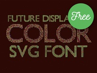 10 Free Color SVG Fonts 1